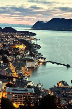 Alesund, Norway. A 4 hour drive from our base at Sjoa Rafting