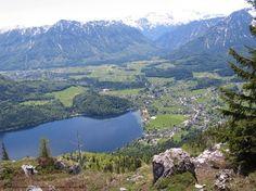 Blick vom Loser. Altaussee,  Austria