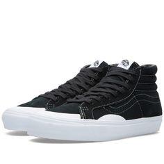 dd765b8977e5 Vans Vault OG SK8 Hi LX X Gosha Rubchinskiy Black White Suede Vans Sneakers