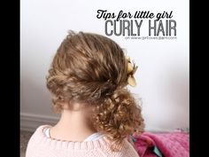YouTube Monday: Tips for Little Girl Curly Hair - Girl Loves Glam