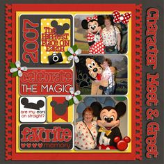 Character Meet and Greet Credits: Front and Center Templates - Template 2, Red Black and White Alpha, In The Pocket Volume 1, and All Together Now by Kellybell Designs