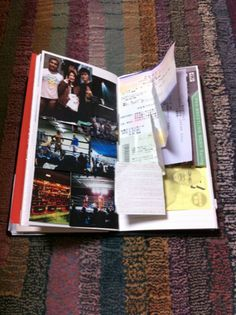 Midori Travelers Notebook.  Example.