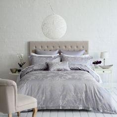 I like the studded bedhead in pearl velvet