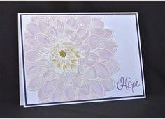 Paper Inkspirations: Soft Dahlia