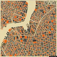 Zo kleurrijk zie je het stratenplan van Los Angeles niet vaak - nrc.nl