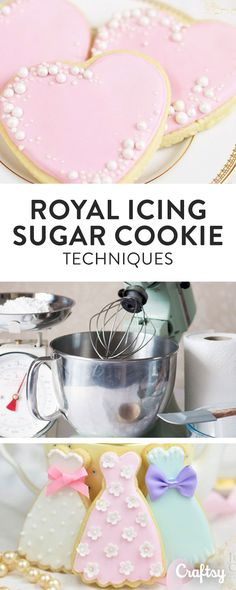 Learn how to decorate stunning sugar cookies with tips, tutorials and more from the experts behind Juniper Cakery!