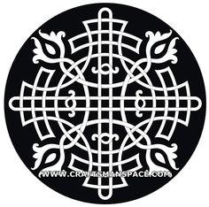 Ornament vectors - Circular shape