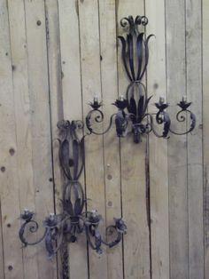 bracket lamp iron - Lustres / Appliques - Lustres - Nord Antique
