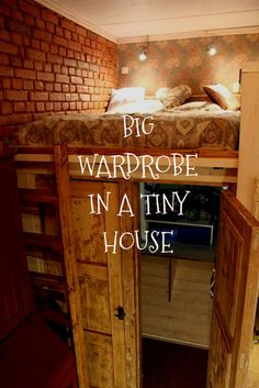 Wardrobe In A Tiny House