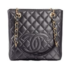 c06ce421c566 Get one of the hottest styles of the season! The Chanel Shopping Tote  Petite Pst Black Caviar Shoulder Bag is a top 10 member favorite on Tradesy.