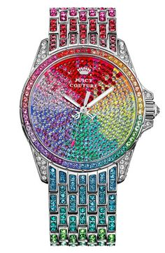Juicy Couture 'Stella' Crystal Embellished Watch