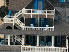 Nights in Rodanthe house - Serendipity. It has been restored and is now a rental property...dream vow renewal house.