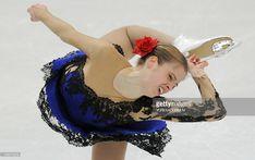 Italy's Carolina Kostner performs during the ladies' short program of the European Figure Skating Championships in Bern on January 28, 2011. AFP PHOTO / YURI KADOBNOV (Photo credit should read YURI KADOBNOV/AFP/Getty Images)