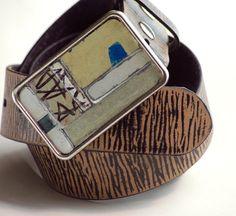 cadb6d295e Graffiti License Plate Belt Buckle Vintage Metal Mens Belt Buckle Womens  Belt Buckle Menswear Mens Fashion One Of A Kind Rustic Handmade