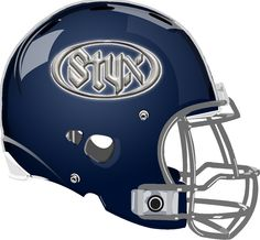 Styx Helmet from a Fantasy Football League