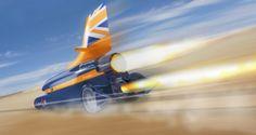 Projeto prevê quebra de recorde com carro supersônico a 1.600 km/hora