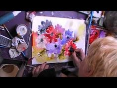 killing the blues watercolor demo - YouTube