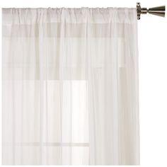 "Sheer Curtain - Length 96""/SHEER/CURTAINS/WINDOWS|Bouclair.com"