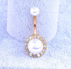 Comercio al por mayor Multi estilo de cristal Oro barra del ombligo del anillo del vientre del ombligo joyería piercing del cuerpo
