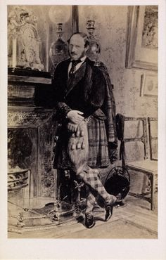 Prince Albert consort of England in kilt Queen Victoria Family, Queen Victoria Prince Albert, Victoria And Albert, Victorian History, Royal Prince, English Royalty, Royal Jewelry, British History, British Royals
