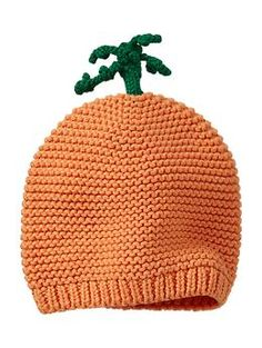 Favorite carrot hat | Gap: For your favorite little sprout!  #Babies #Carrot_Hat #Gap