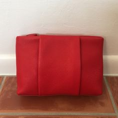 Red Alexander Wang Clutch Brand new, never used. With tags and dust bag Alexander Wang Bags Clutches & Wristlets