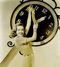Jane Greer - New Years 1940s