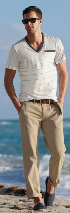 Men's Fashion | Menswear | Men's Apparel | Casual Style | Spring/Summer | Shop at designerclothingfans.com