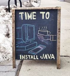Funny Sidewalk Chalkboard signs outside of restaurants, bars and coffee shops