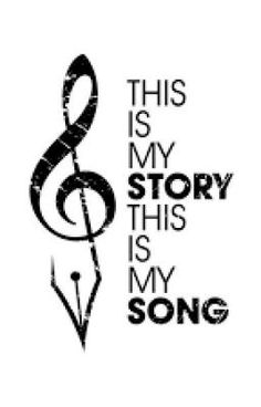 """""""This is my story, this is my song, praising my Saviour, all the day long!"""" - Blessed Assurance by Fanny Crosby Music Lyrics, Music Quotes, Me Quotes, Music Quote Tattoos, Praise Songs, Praise And Worship, Worship Songs, Praise God, Blessed Assurance"""