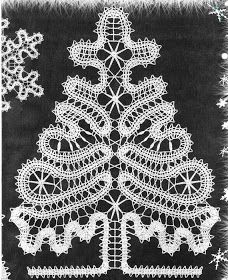 Uncinetto d'oro: Tree and Snowflakes