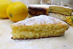 E dopo la mia Torta al mandarino cremosa,che trovate non potevo non fare la Torta al Limone Cremosa!!! Se vi piacciono i dolci limonosi,questa è favolosa