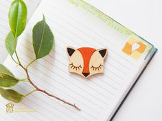 Wood Brooch Pin. Wooden Jewelry. Nature Lover Gift. Lovely wooden brooch. laser cut wood brooch. Christmas gift  Wooden Brooch - eco laser cut wood with engraving. Lovely wooden brooch. laser...