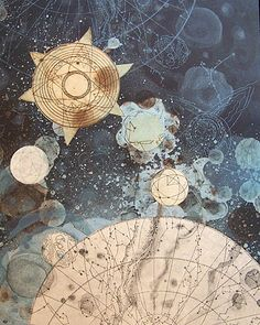 """wraithlings: """" Celestial Mapping and Celestial Proportions by Tallmadge Doyle """""""