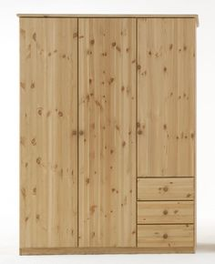 Perfect Kleiderschrank Jonas Kiefer massiv t rig in Farben