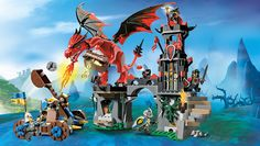 Lego Castle Dragon Mountain