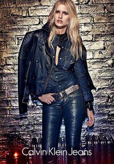 Dinorama: Calvin Klein Jeans Outono-Inverno 2012.13