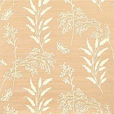 Thibaut Grasscloth Resource - Grasses - Wallpaper - Cream