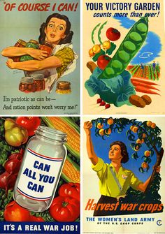 Vintage War Posters #veggielove