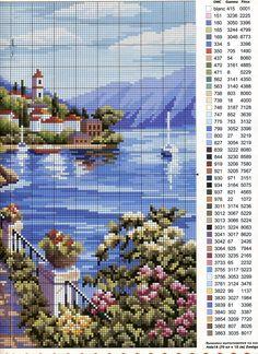 Cross-stitch patterns - Borduur patronen (2)