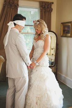 Christian Wedding Ideas:First touch Prayer.  Alively Photography