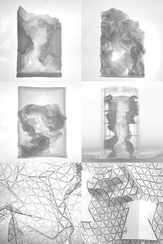 Anagenesis: Post-Industrial Building Envelope That Engages Natural Phenomena - eVolo Paper Architecture, Architecture Magazines, Architecture Drawings, Architecture Design, Parametric Design, Environmental Art, Magazine Design, Installation Art, Cool Art