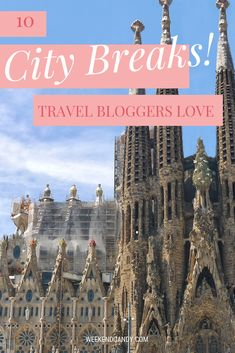 Need city break inspiration? I asked 10 awesome travel bloggers where they would go for a weekend if they could choose anywhere in Europe? Here are their answers! #Citybreaks#Europeanbreaks Weekend Breaks Europe, City Breaks Europe, Weekend City Breaks, European Weekend Breaks, European City Breaks, Travel Destinations, Travel Tips, Travel Advice, Travel Guides