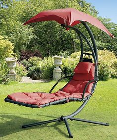 Take a look at this Red Helicopter Swing Chair on zulily today!