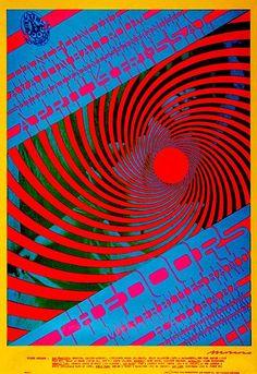 The Doors - 1967 - Avalon Ballroom - Concert Poster