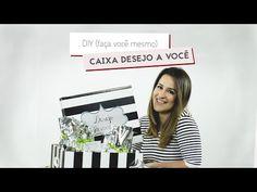 Vídeo Como fazer Caixa Desejo a Você + tags grátis