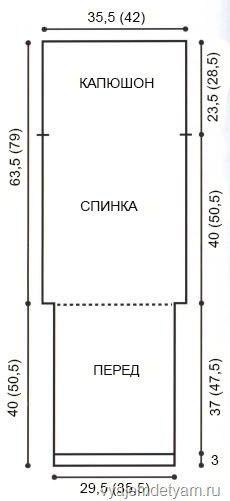 Выкройка спального мешка