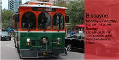Trolley home page of routes in MIAMI