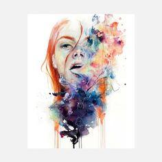 Agnes Cecile: Art Is Really Dangerous Print