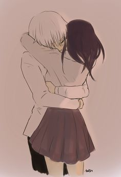 Anime Couples Kaneki x Touka // TouKen - KaneTou - - Cute Couple Drawings, Anime Couples Drawings, Anime Couples Manga, Cute Anime Couples, Manga Anime, Anime Art, Romantic Anime Couples, Couple Manga, Anime Love Couple